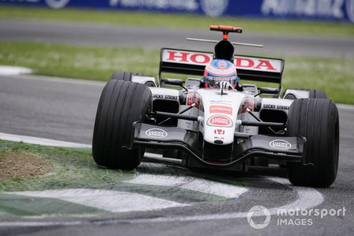2005 San Marino Grand Prix - Sunday Race, Imola, Italy. 24th April 2005 Jenson Button, BAR Honda 007