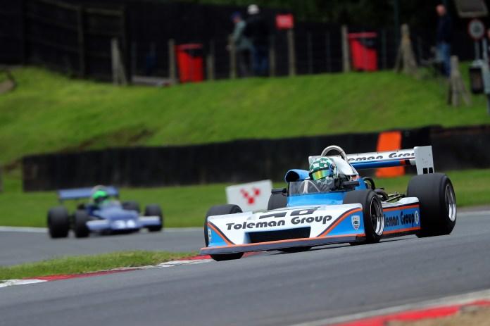 Matt Wrigley and Martin Stretton enjoyed entertaining scraps in their F2 Marches