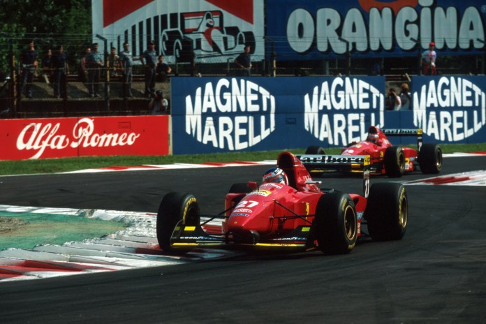Alesi led team-mate Berger in the early stages, but poor reliability cost him dearly