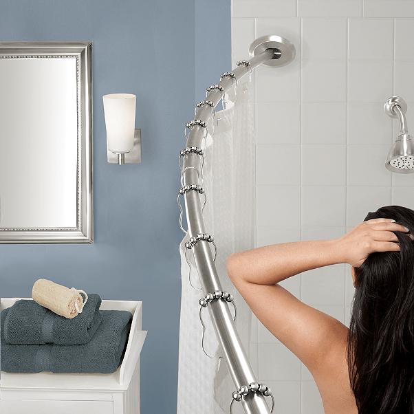 shower curtain sliding glass door or