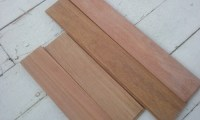 Hardwood flooring GOLDEN TEAK (CUMARU)