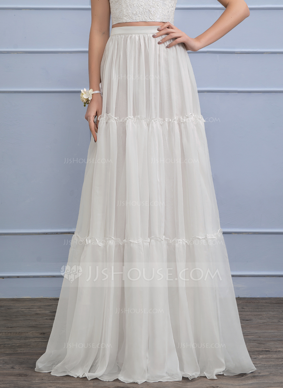 Separates FloorLength Chiffon Wedding Skirt 002110495