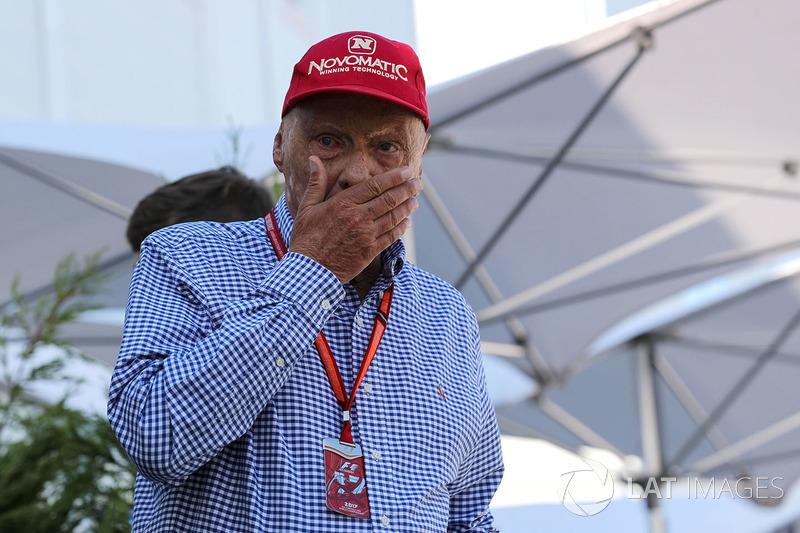 Niki Lauda Mercedes AMG F1 NonExecutive Chairman