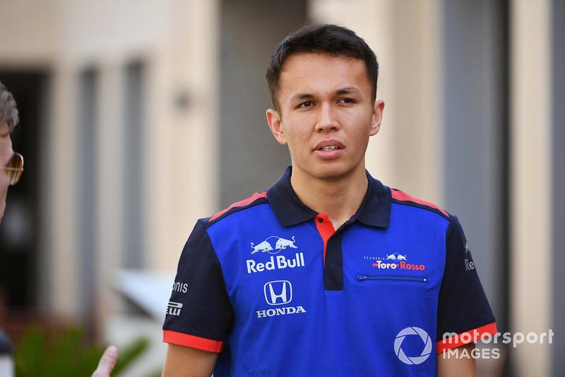 Alexander Albon, Scuderia Toro Rosso  F1 2019 driver and team line-ups alexander albon scuderia toro 1