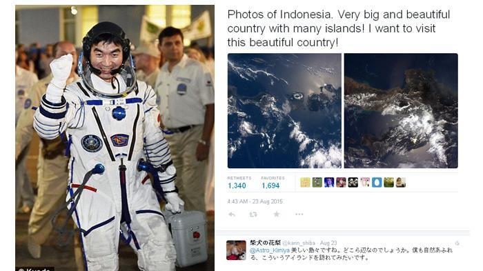 Pujian Untuk Indonesia Datang dari Stasiun Luar Angkasa