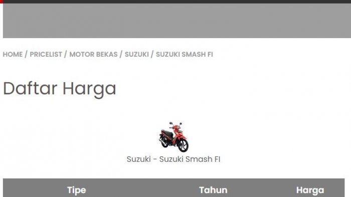 Harga ps4 sekarang sudah mulai turun dan terlebih lagi dari pihak sony. Daftar Harga Motor Suzuki Bekas September 2021: Smash, Address, Nex, Satria FU, hingga GSX ...
