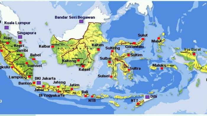 Gambar peta indonesia dunia|tematik map|obyek wisata. Sekitar 4000 Pulau Di Indonesia Hilang Dari Peta Indonesia Ini Sebabnya Tribunnews Com Mobile