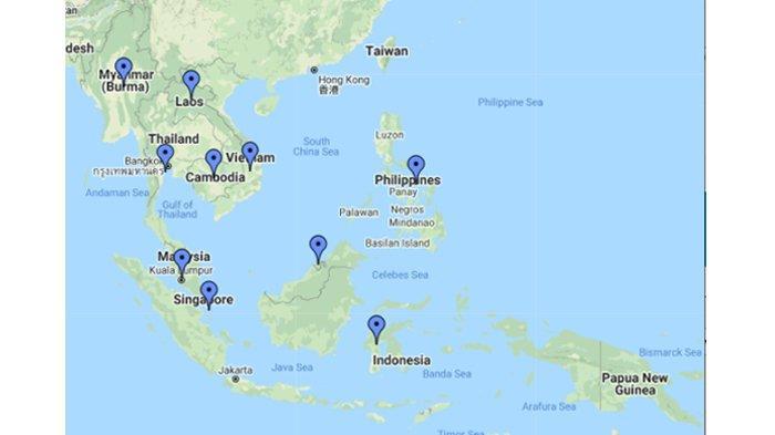 30/06/2019· inilah pembahasan selengkapnya mengenai gambar peta asean beserta garis lintang dan garis bujur. Letak Astronomis Dan Iklim Matahari Negara Negara Asean Indonesia Brunei Darussalam Hingga Laos Tribunnews Com Mobile