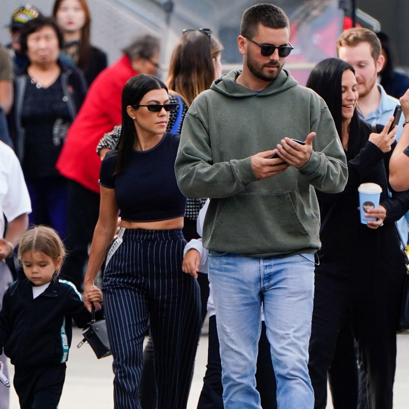 Reconciliación? Captan a Scott Disick y Kourtney Kardashian felices en  familia
