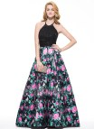 Halter Ball Gown Prom Dresses