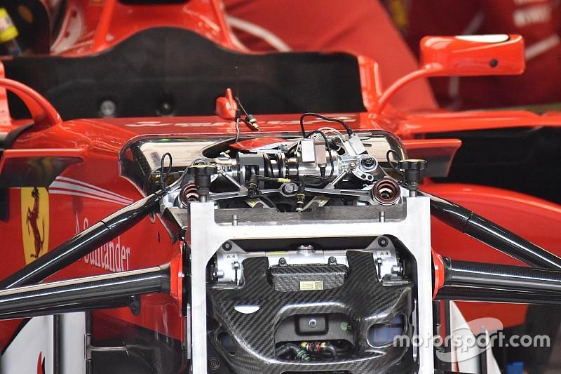 Ferrari ecco il nuovo terzo elemento della sospensione