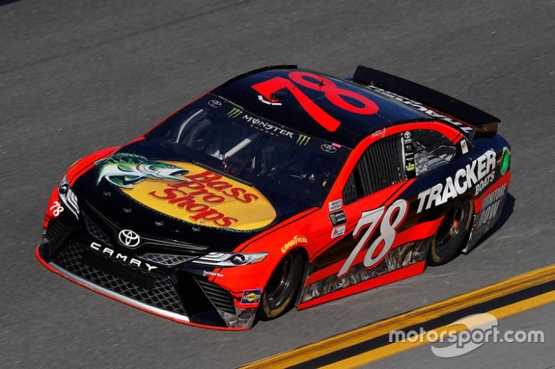 Martin Truex Jr., Furniture Row Racing Toyota at Daytona 500