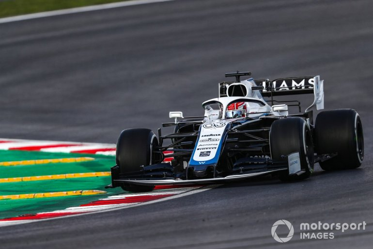 *P20 George Russell, Williams FW43