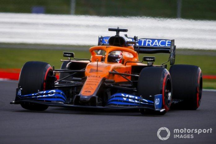 P7 Carlos Sainz Jr., McLaren MCL35