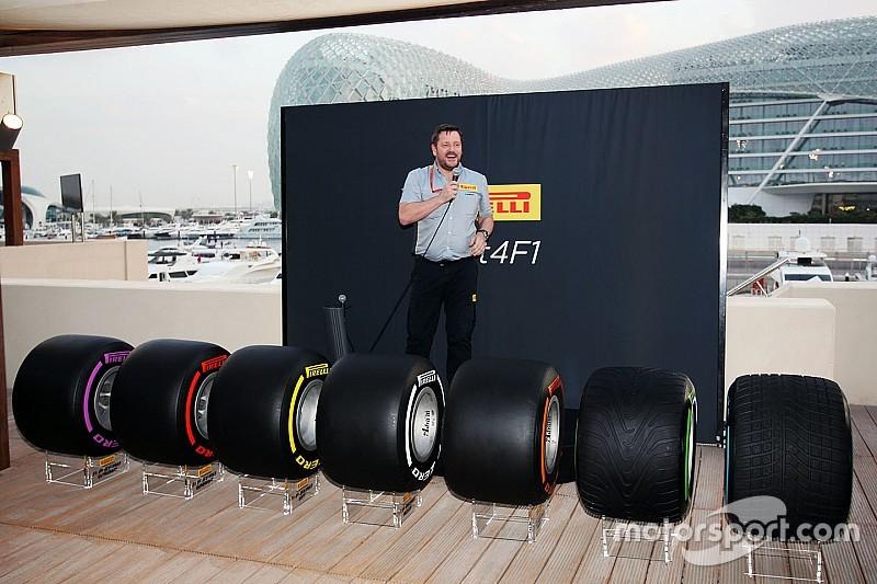 Presentata l'intera gamma di gomme larghe 2017 Pirelli ad Abu Dhabi