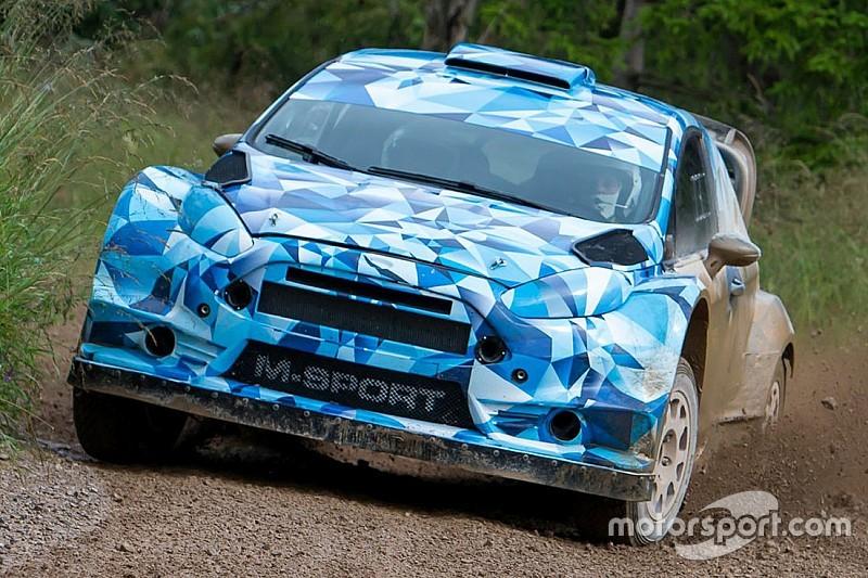 Sébastien Ogier ha provato anche la Ford Fiesta RS WRC 2017