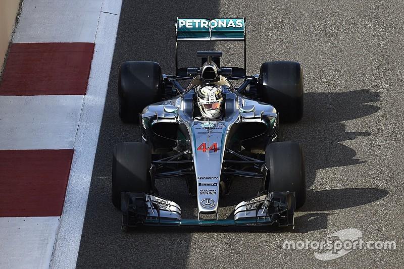 Hamilton abbandona i test di Abu Dhabi per un malessere fisico
