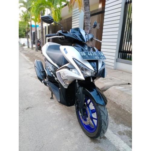 Jika anda berminat harga yamaha aerox 155 bekas berkisar di angka rp17.500.000 sampai rp24.000.000. Motor Yamaha Aerox R Bekas Harga Rp 22,7 Juta Nego Tahun 2019 Matic Murah Lengkap di Makassar ...