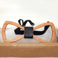 Modern Wood Bow Tie (200085341) - Men's Accessories - JJsHouse