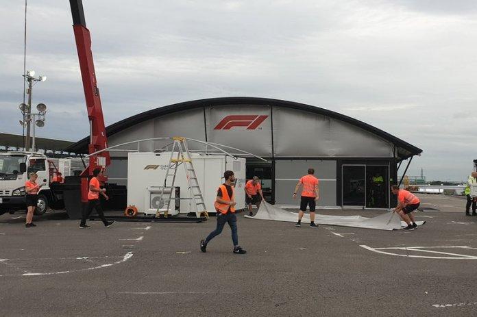 Centro de Retransmisión de la F1