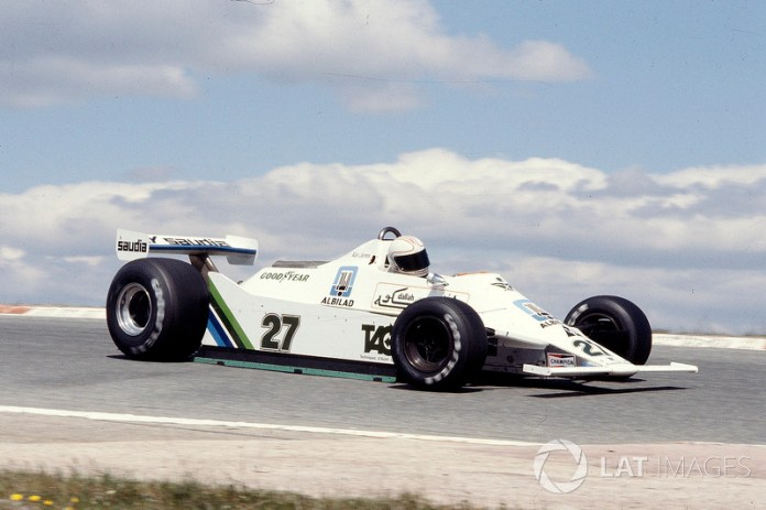 Alan Jones, Williams FW07