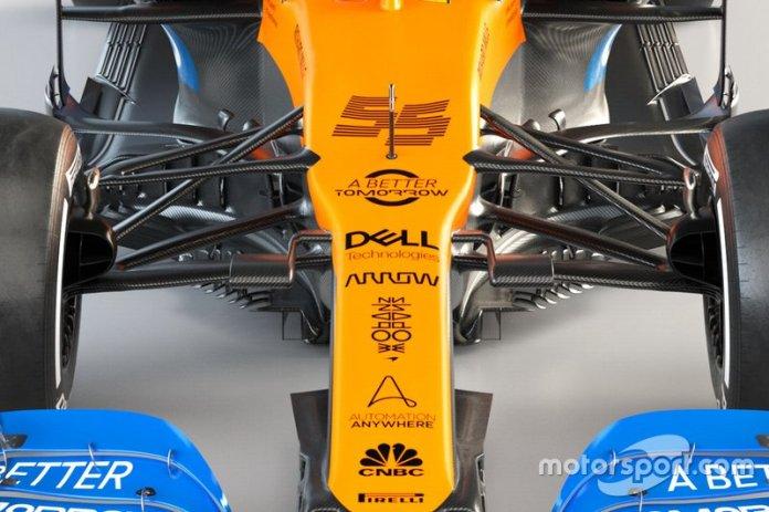 McLaren MCL35: l'ardita sospensione anteriore che favorisce l'aerodinamica e penalizza la meccanica