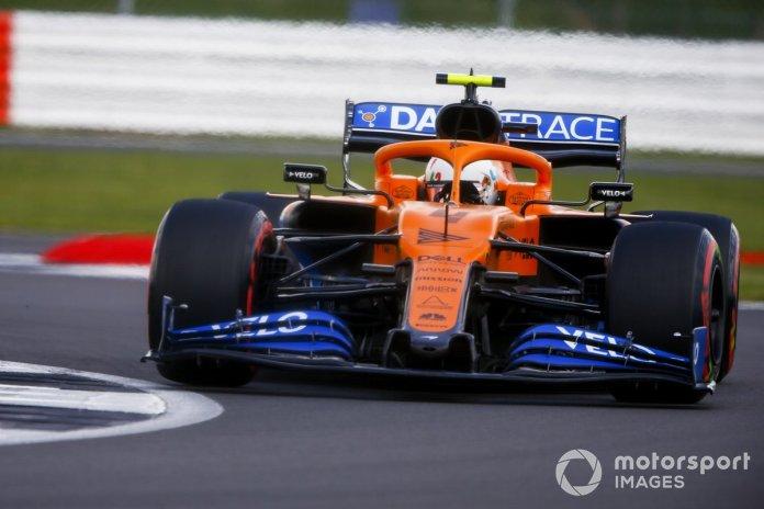 P5 Lando Norris, McLaren MCL35