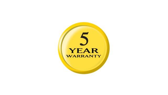 5-Year Rangefinder Limited Warranty