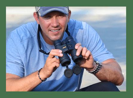 MONARCH 5 Binocular on Backpack