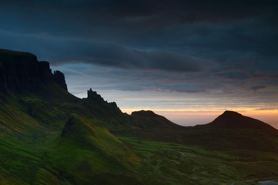 Low light landscape photo shot with the AF-S NIKKOR 50mm f/1.8G