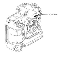 10-Pin Remote Connector Cap from Nikon