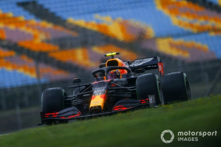 P4 Alex Albon, Red Bull Racing RB16