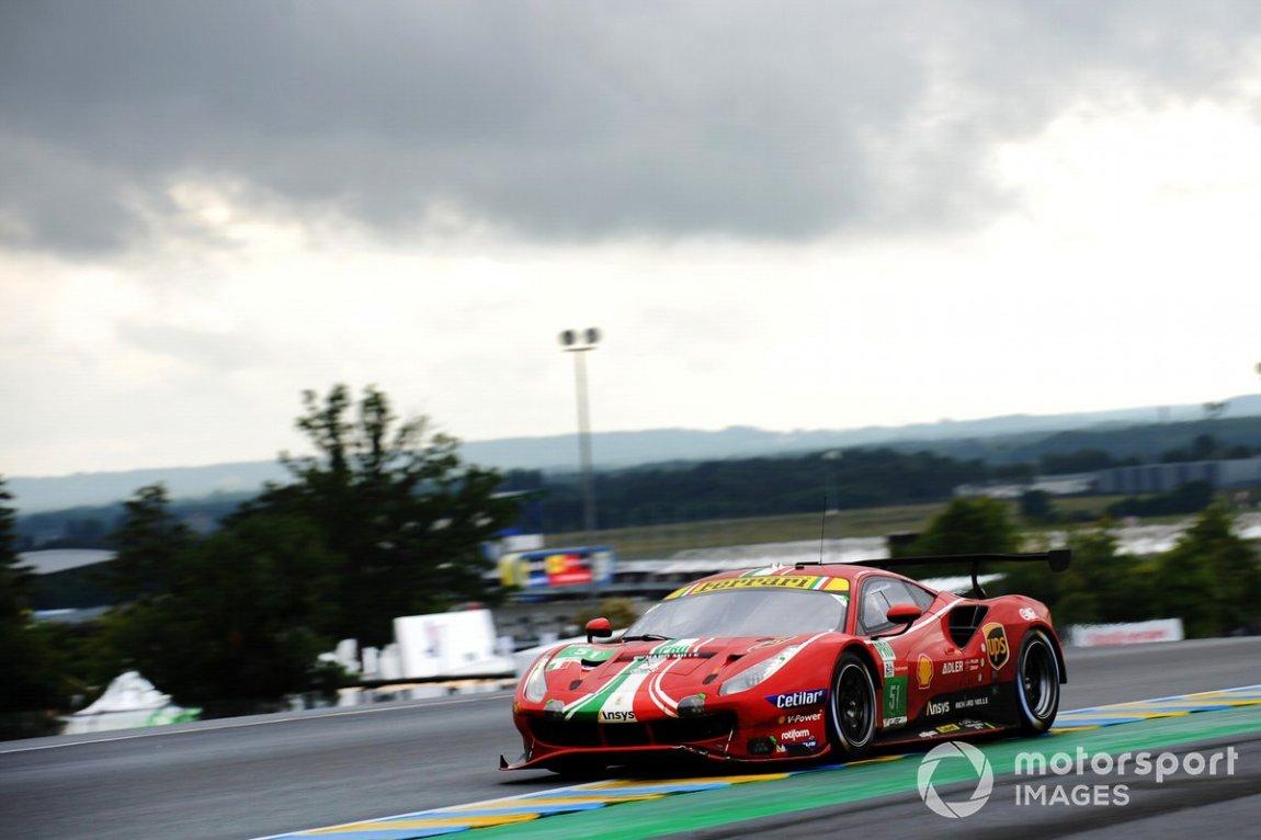 # 51 AF Corse Ferrari 488 GTE EVO LMGTE Pro, Alessandro Pier Guidi, James Calado, Come Ledogar