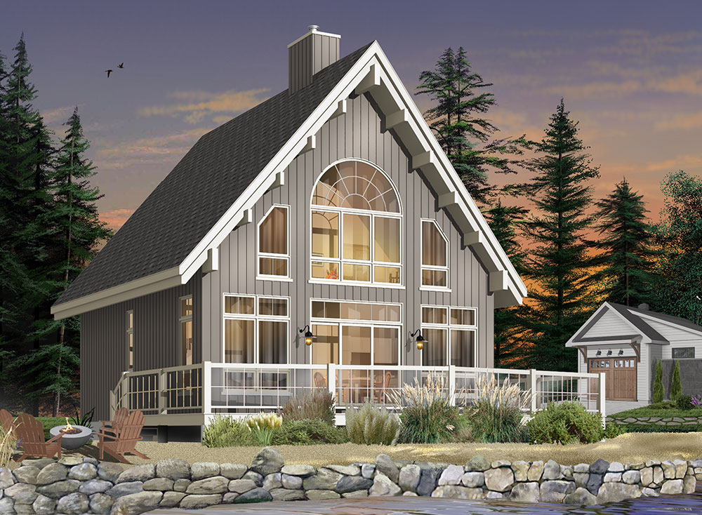 Beach House Plan with 3 Bedrooms and 25 Baths  Plan 1165