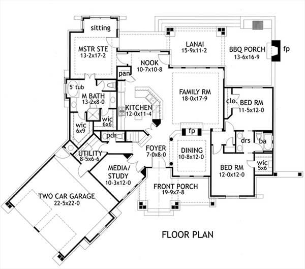 Craftsman House Plan with 3 Bedrooms and 25 Baths  Plan 1895