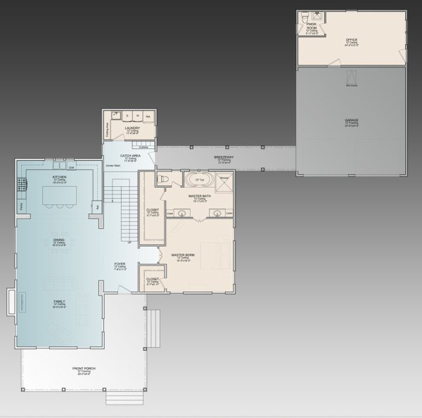 Ingalls House Floor Plan
