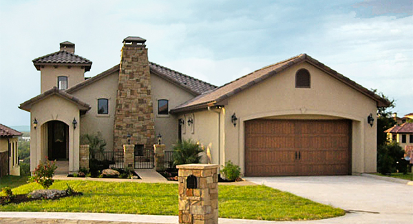 Mediterranean House Plan With 4 Bedrooms And 2.5 Baths