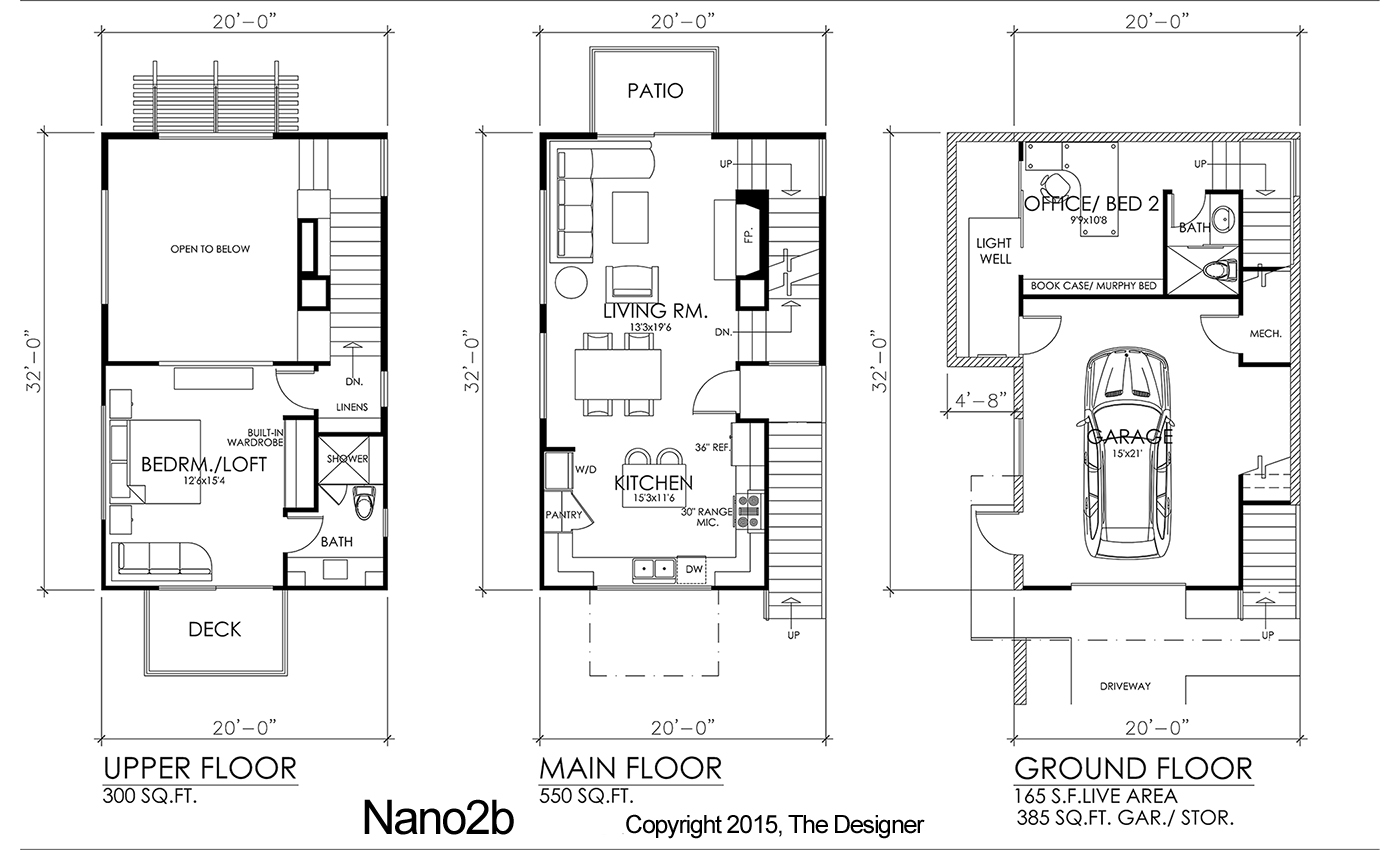 Contemporary House Plan With 2 Bedrooms And 2 5 Baths