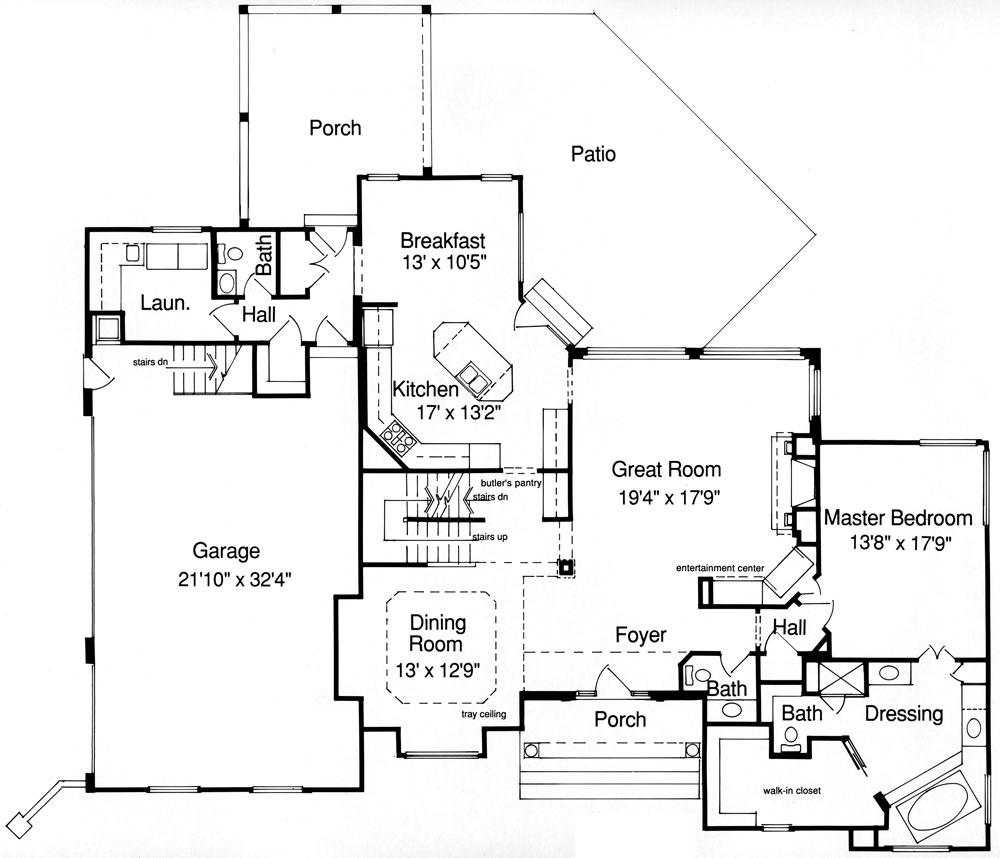 4 Bedrooms and 25 Baths  Plan 9088