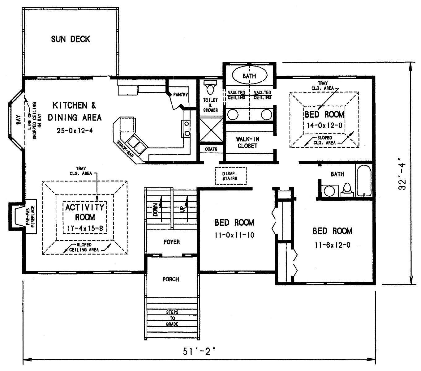 Cottage House Plan With 3 Bedrooms And 2 5 Baths
