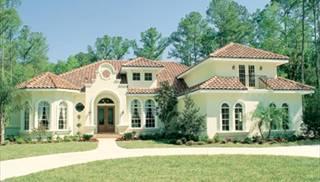 Florida Style House Plans & Home Designs Stucco Home Plans & Ideas