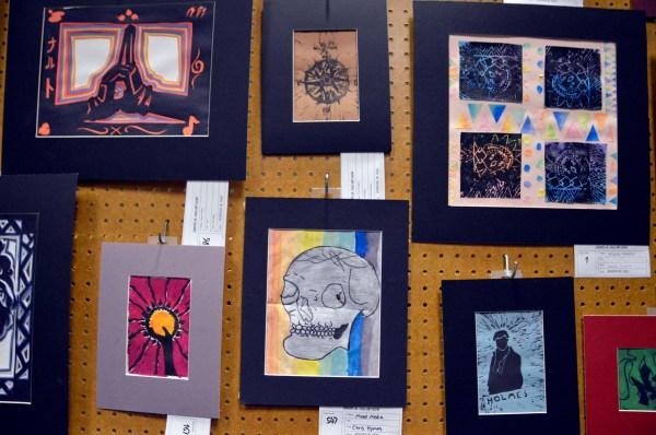 Junior High Art Show