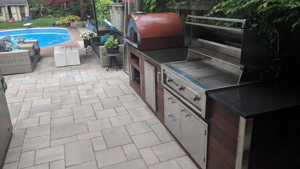 outdoor kitchen oven cleaning supplies with pizza my view larger image