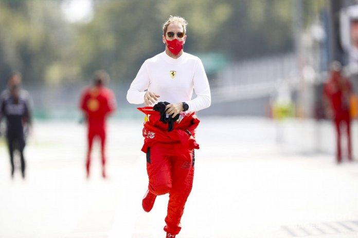 Sebastian Vettel, Ferrari, corre verso la Racing Point?