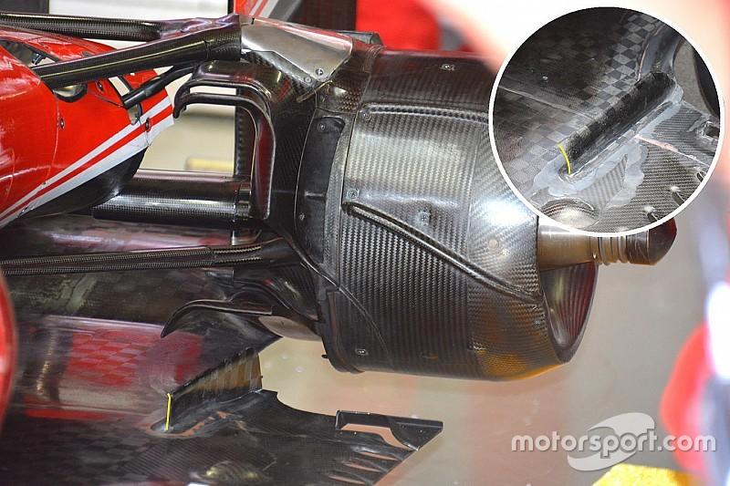 Ferrari: una modifica sul fondo per ridurre le turbolenze nel diffusore