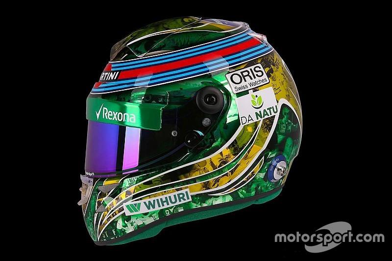 Ecco il casco speciale che Felipe Massa indosserà per il GP del Brasile