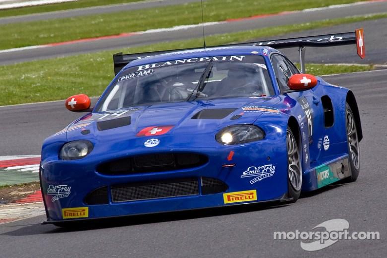 #14 Emil Frey Racing Emil Frey G3 Jaguar: Lorenz Frey, Gabriele Gardel, Fredy Barth at Silverstone