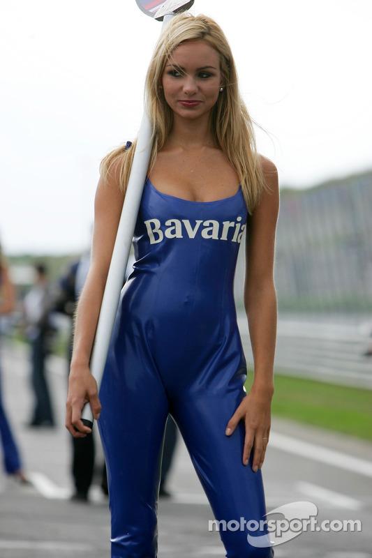 Grid Girl at Zandvoort