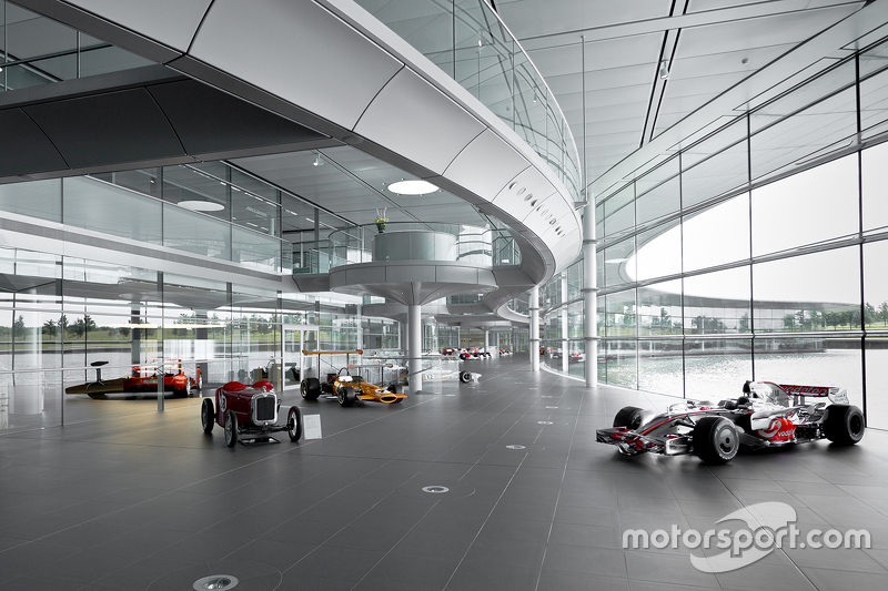 Classic McLarens at the Technology Centre