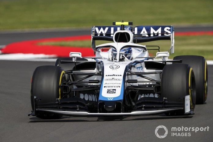 P20 Nicholas Latifi, Williams FW43